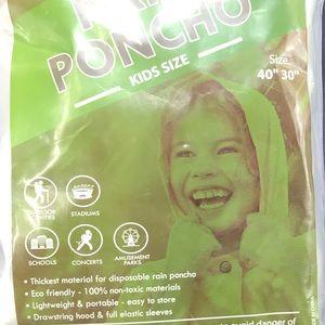 Kids Poncho—Bundle 4 for $12